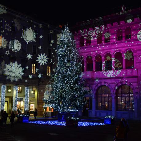 Grande albero di Natale