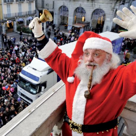 Arrivo di Babbo Natale