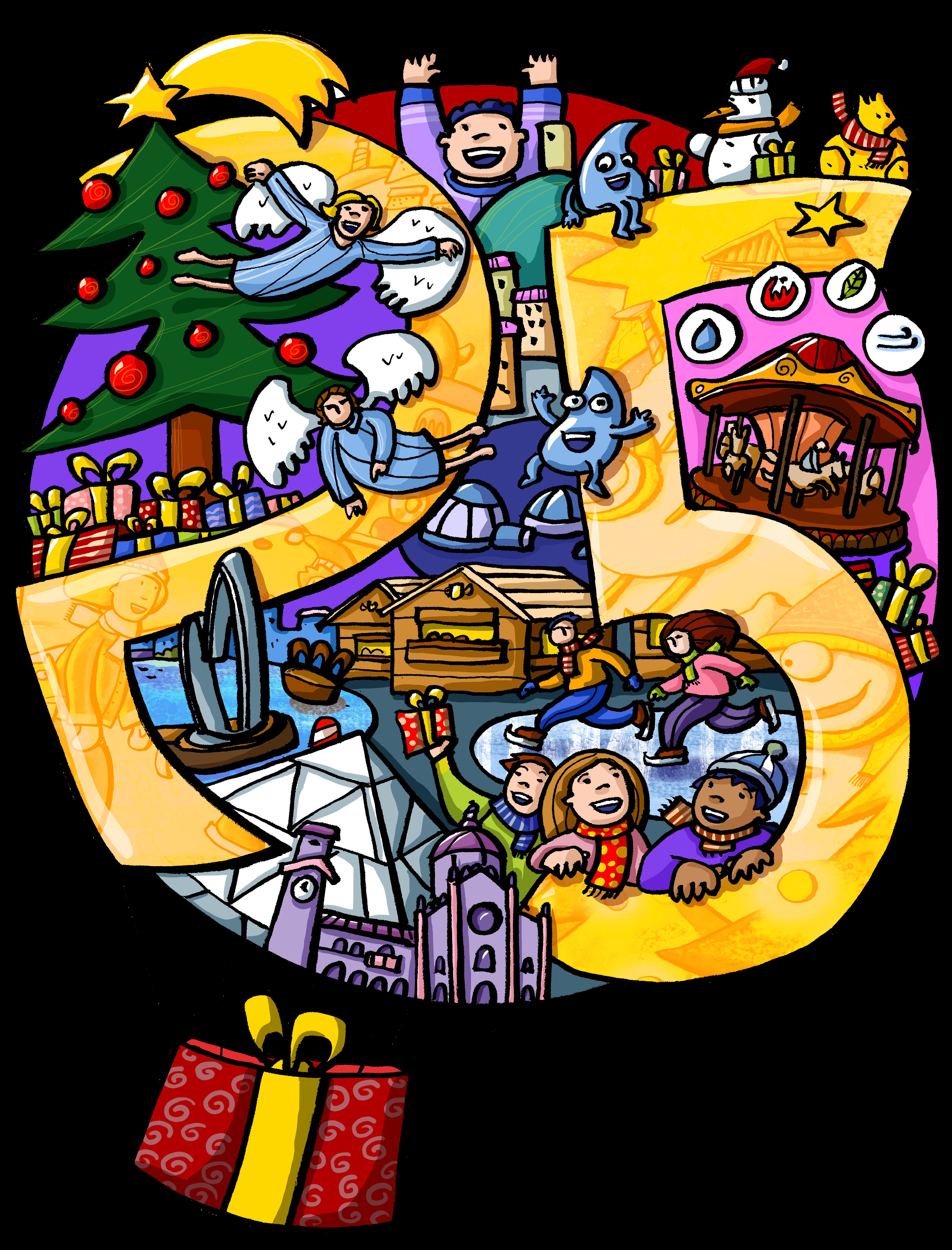 Babbo Natale 8 Gallery.Como Citta Dei Balocchi Xxv Edizione Dal 24 Novembre 2018 Al 06